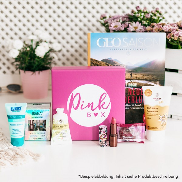 "Pink Box - ""Ready for Holiday"""